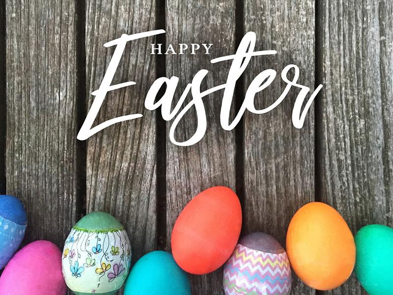 Easter Holiday Announcement