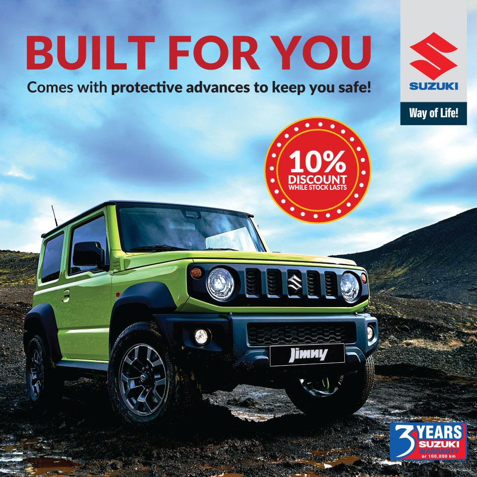 Suzuki Jimny special offer