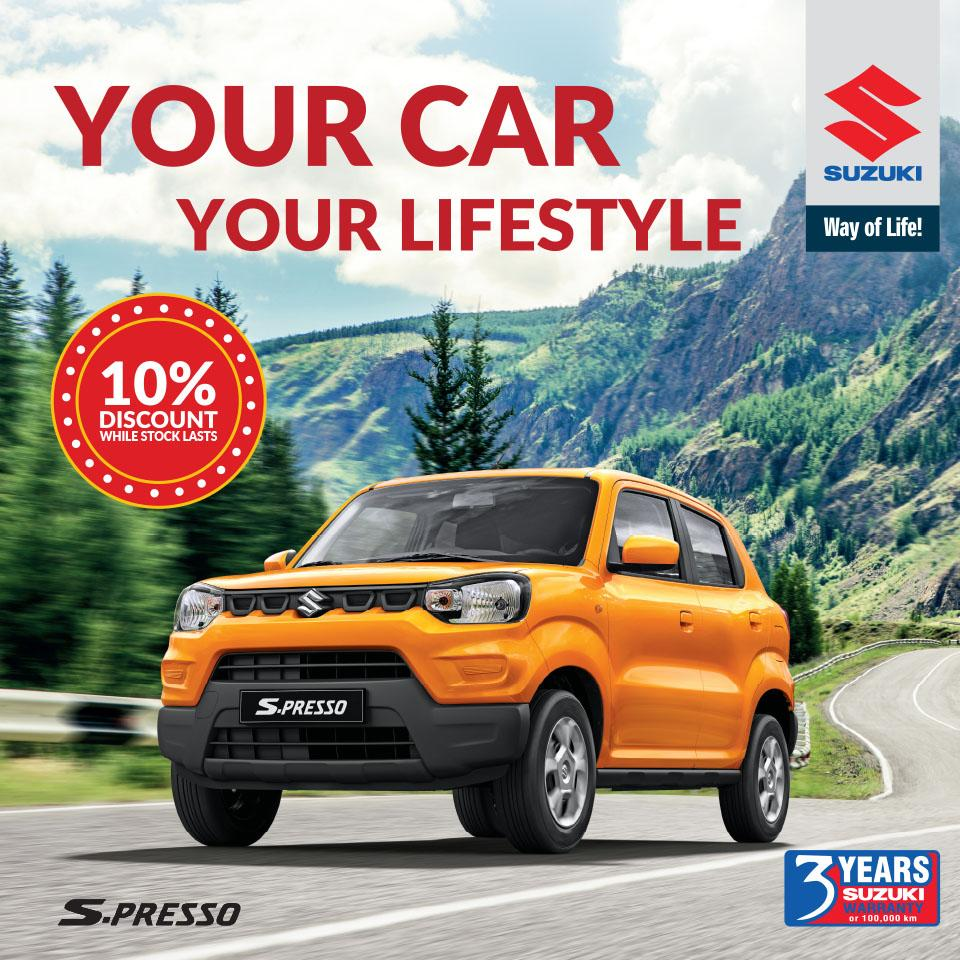 Suzuki S-Presso special offer
