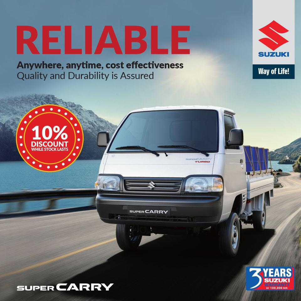 Suzuki Super Carry special offer